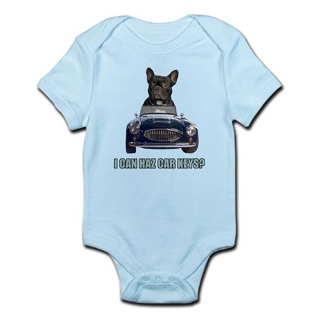 LOL French Bulldog Infant Bodysuit