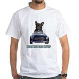 French bulldogs Mens White T-shirts