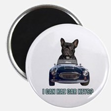 LOL French Bulldog Magnet