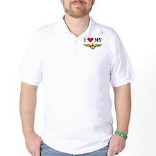 Cute Proud navy girlfriend T-Shirt