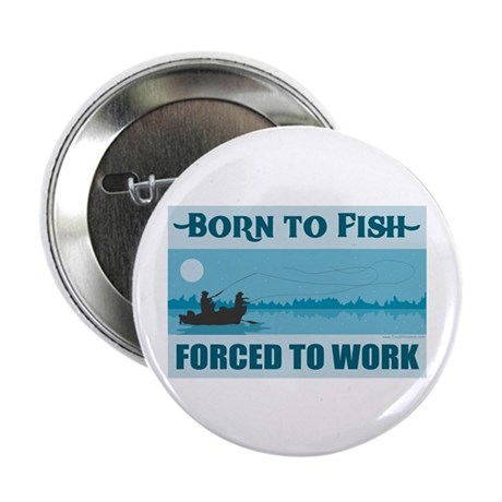 """Fishing 2.25"""" Button (10 pack)"""