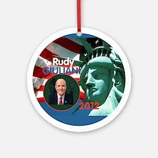 Giuliani Ornament (Round)
