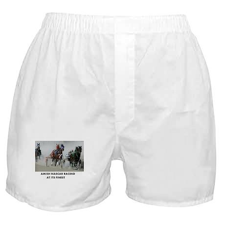 AMISH NASCAR RACING Boxer Shorts