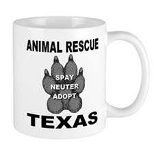 The Texas Animal Rescue Paw Mug