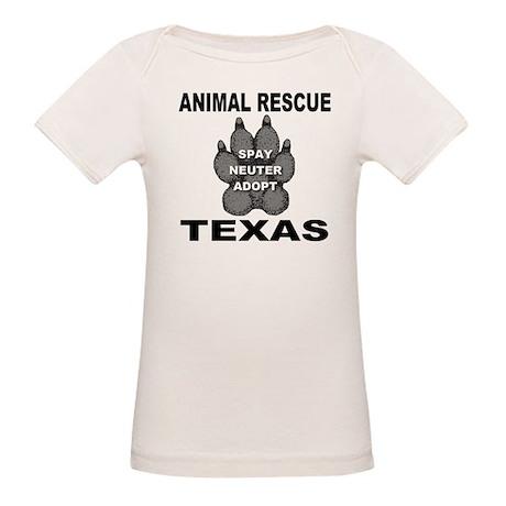 The Texas Animal Rescue Paw Organic Baby T-Shirt