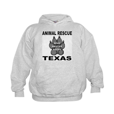 The Texas Animal Rescue Paw Kids Hoodie