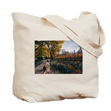 Cute Collie Tote Bag