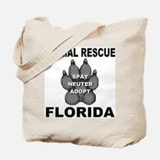 Florida Animal Rescue Tote Bag
