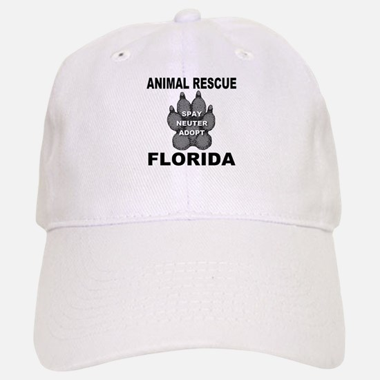 Florida Animal Rescue Baseball Baseball Cap