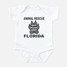 Florida Animal Rescue Infant Bodysuit
