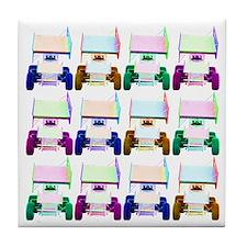 Four Wide Tile Coaster