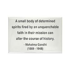 Gandhi 4 Rectangle Magnet