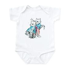 Catoons™ Hair Sylist / Barber Cat Infant Bodysuit