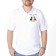 Irish Food Pyramid T-Shirt