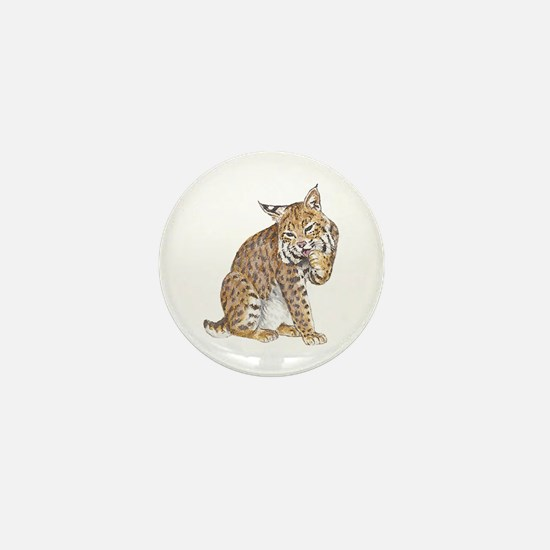 Bobcat Mini Button
