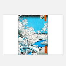 Cute Japanese art Postcards (Package of 8)