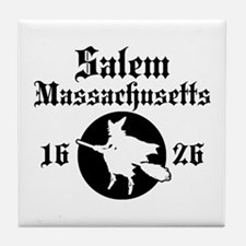 Salem Massachusetts Tile Coaster