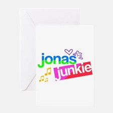 Jonas Junkie Greeting Card
