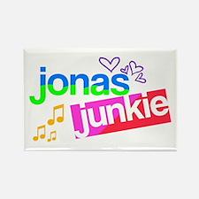 Jonas Junkie Rectangle Magnet