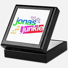 Jonas Junkie Keepsake Box