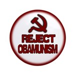 "Reject Obamunism 3.5"" Button (100 pack)"