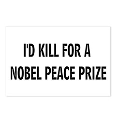 NOBEL PRIZE Postcards (Package of 8)