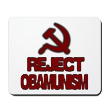 Reject Obamunism Mousepad