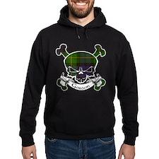 Gordon Tartan Skull Hoody