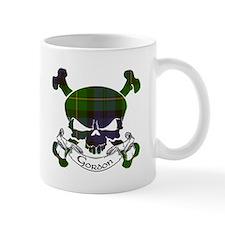 Gordon Tartan Skull Mug