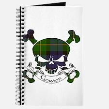 Gordon Tartan Skull Journal
