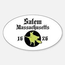Salem Massachusetts Oval Decal