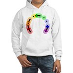Queer Morse Arc Hooded Sweatshirt