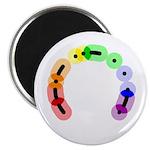 Queer Morse Arc Magnet