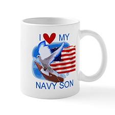 Love My Navy Son Mug