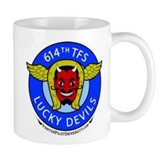 614th TFS Lucky Devils Mug