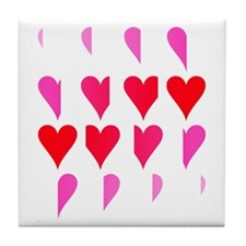 Phases of the Heart Tile Coaster