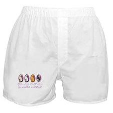 Multi-Cat Person Boxer Shorts
