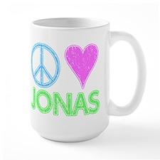 Peace Love Jonas Mug