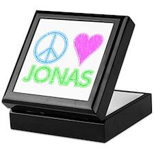 Peace Love Jonas Keepsake Box
