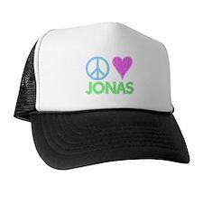 Peace Love Jonas Trucker Hat