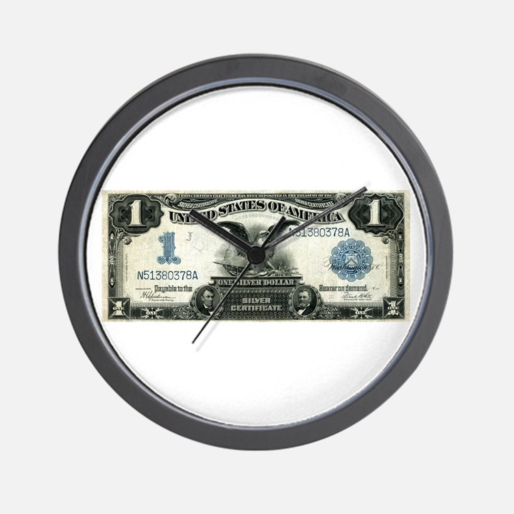 Cute Currency Wall Clock