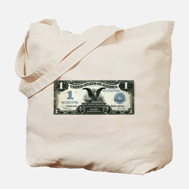 Cute Currency Tote Bag