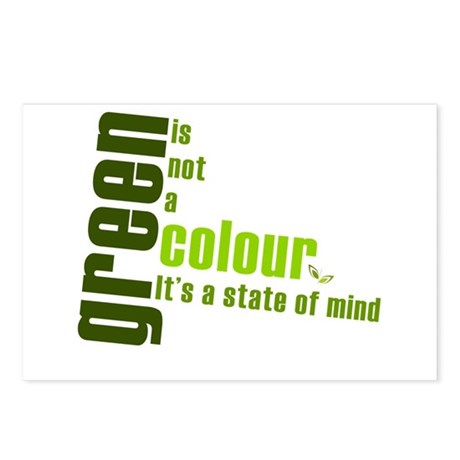 Green - State of Mind Postcards (Package of 8)