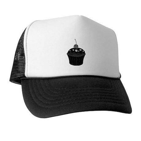 Mary Jane's Black Cupcake Trucker Hat