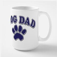 Dog Dad Father's Day Large Mug