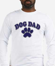 Dog Dad Father's Day Long Sleeve T-Shirt