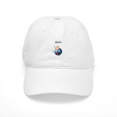 Frantic Bowling Ball Baseball Cap