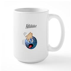 Frantic Bowling Ball Large Mug