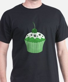 Mary Jane's Green Cupcake T-Shirt