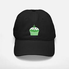 Mary Jane's Green Cupcake Baseball Hat